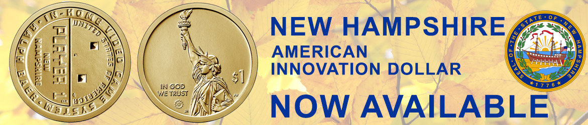Order the New Hampshire Innovation Dollar