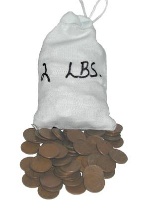 Village Coin Shop: Wheat Cent Bag (Two Pounds)