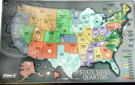 Category  State Quarter Map on quarter display map, 50 state quarters sheet printable, 50 state flag map, national park quarter map, 50 states coin map, state series quarters collector map, 50 state name map, us quarter map, quarter collection map, all 50 states and capitals map,