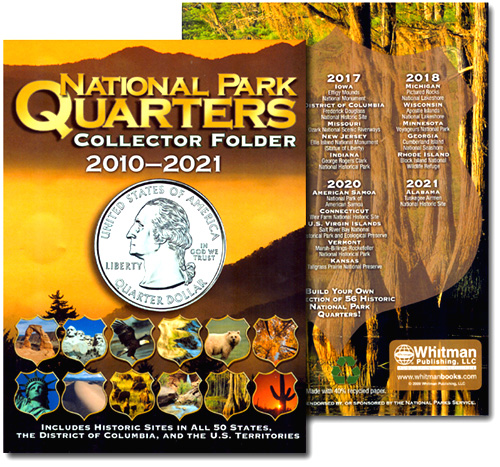 Village Coin Shop: National Park Quarters Collector Folder By ...