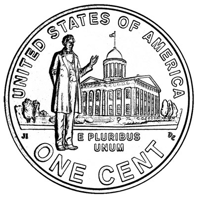 Lincoln Commemorative Cents 2009