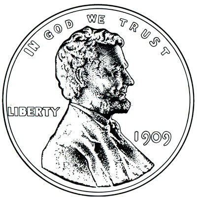 Lincoln Wheat Cents 1909-1934