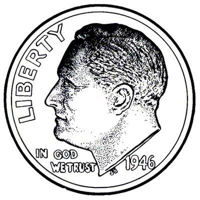 Roosevelt Dimes 1946-Date