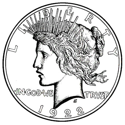 Peace Dollars 1921-1928