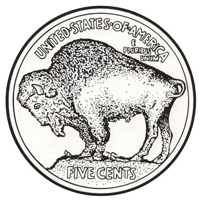Buffalo Nickels 1913-1938