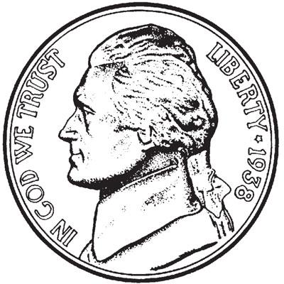 Jefferson Nickels 1938-Date